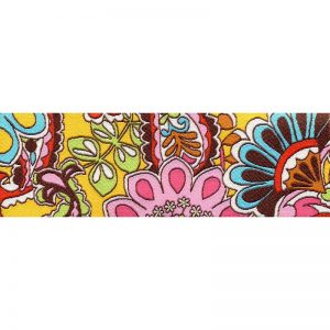 Slip Lead 70's Floral Wide