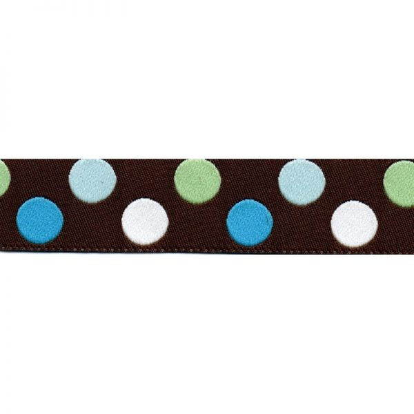 Standard Leash Blue Dots