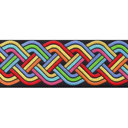 Slip Lead Rainbow Weave