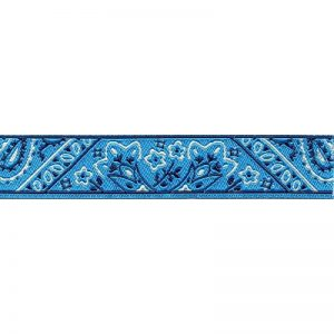 Standard Leash Blue Bandana