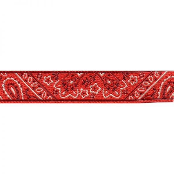 Standard Leash Red Bandana