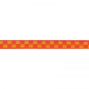Standard Leash Red & Yellow Checkers