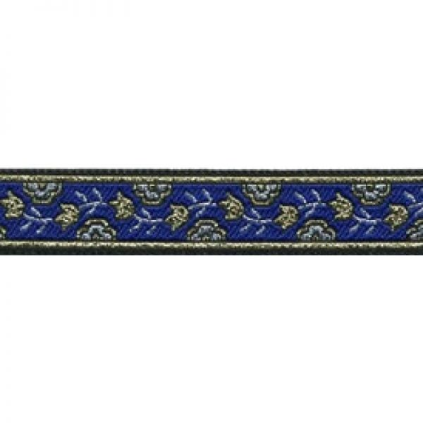 Standard Leash Blue Garden Narrow