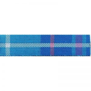 Standard Leash Tartan Blue
