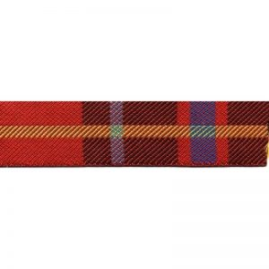 Standard Leash Tartan Red