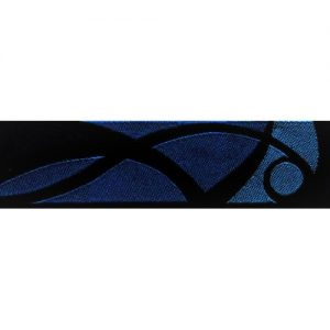 Standard Leash Blue Stained Glass