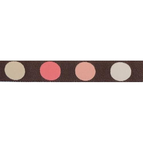 Standard Leash Pink Dots Narrow