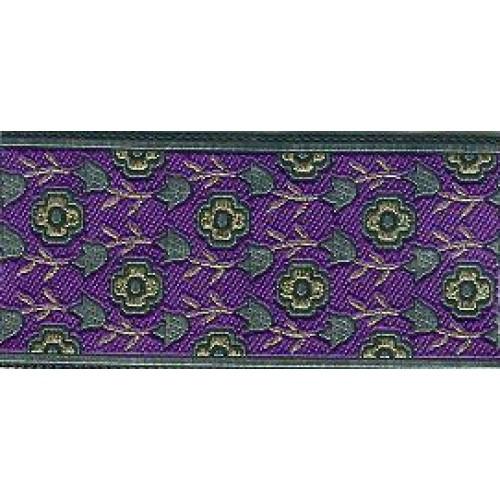 Slip Lead Purple Garden