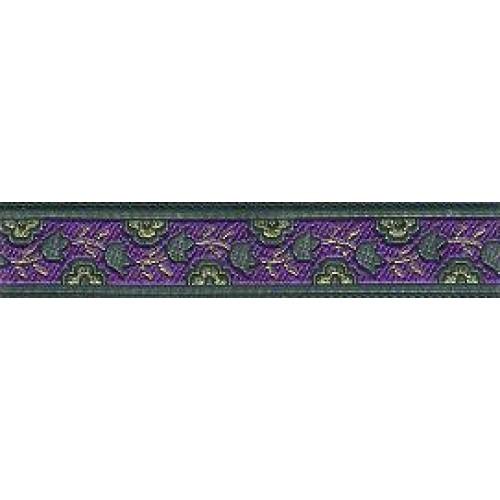 Standard Leash Purple Garden Narrow